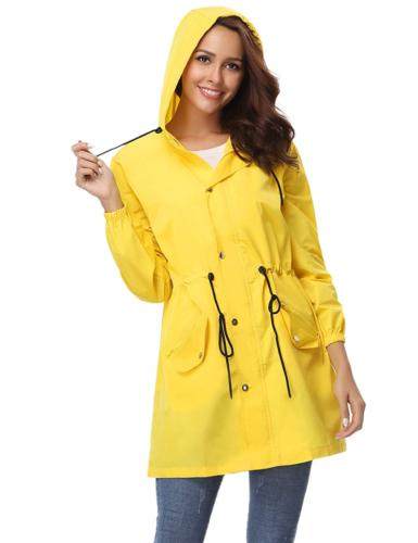 f78850bec Abollria Rain Jacket Women Waterproof wi...