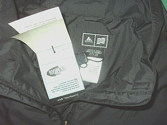 adidas rain provjckt wind new with tags black xl