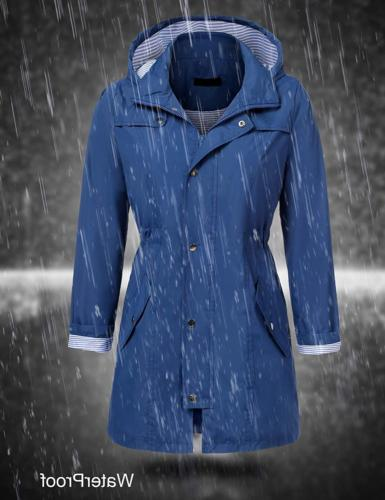 UNibelle Rain Jacket Hooded