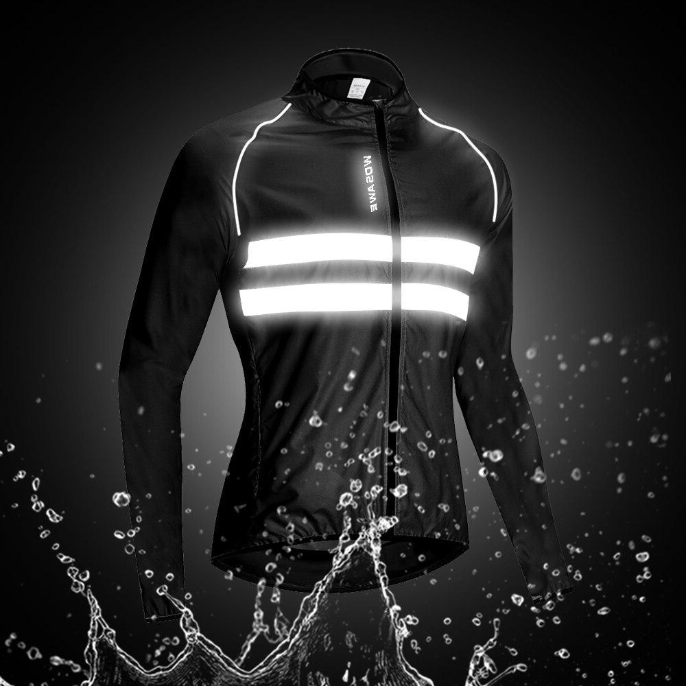 WOSAWE Cycling <font><b>Jackets</b></font> Men Breathable <font><b>Rain</b></font> Coat Cycle Bike Clothes