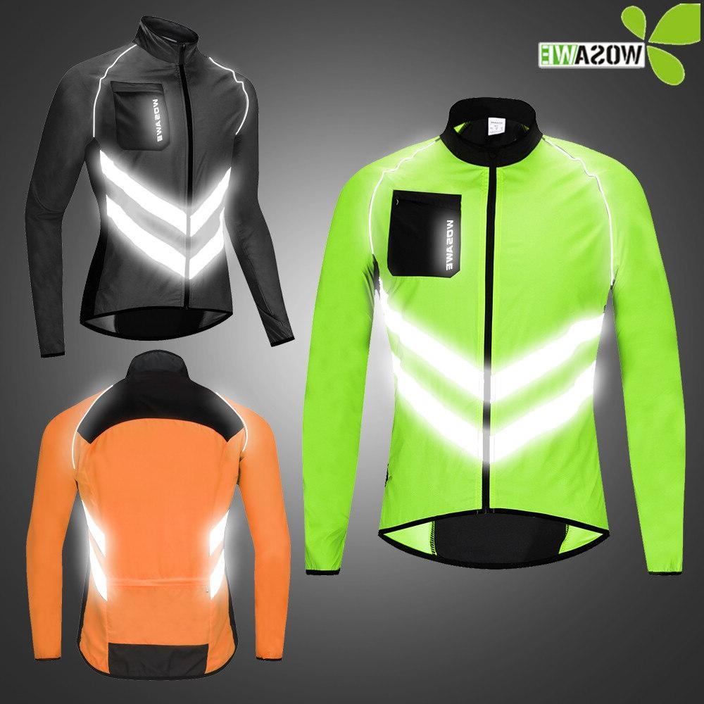 reflective cycling font b jackets b font