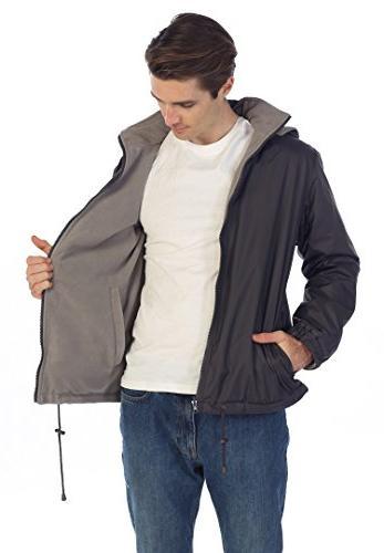 Gioberti Men's Jacket with Polar Fleece