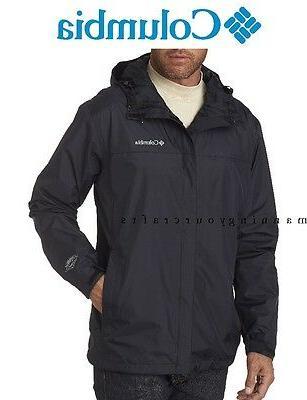 S - 3XL Columbia Men's Watertight II Rain Jacket Packable