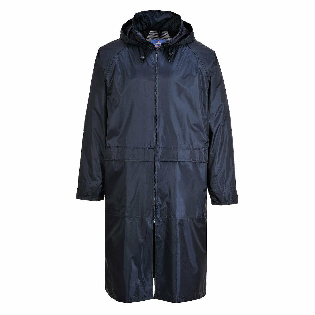 Portwest S438 Classic Adult Long Waterproof Rain Coat Jacket