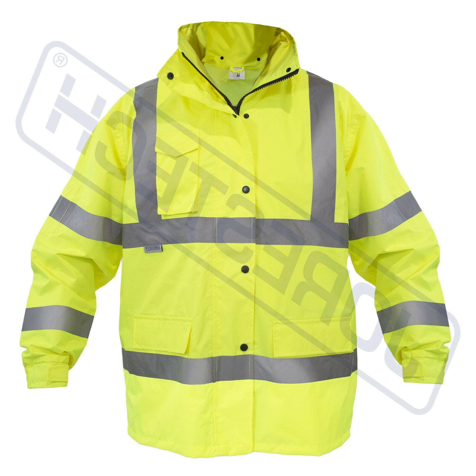 Safety Jacket Reflective Green w