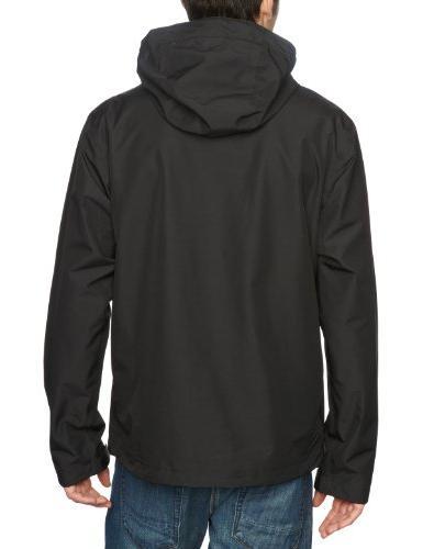 Helly Hansen Men's J Waterproof Rain Jacket, Black, X-Large
