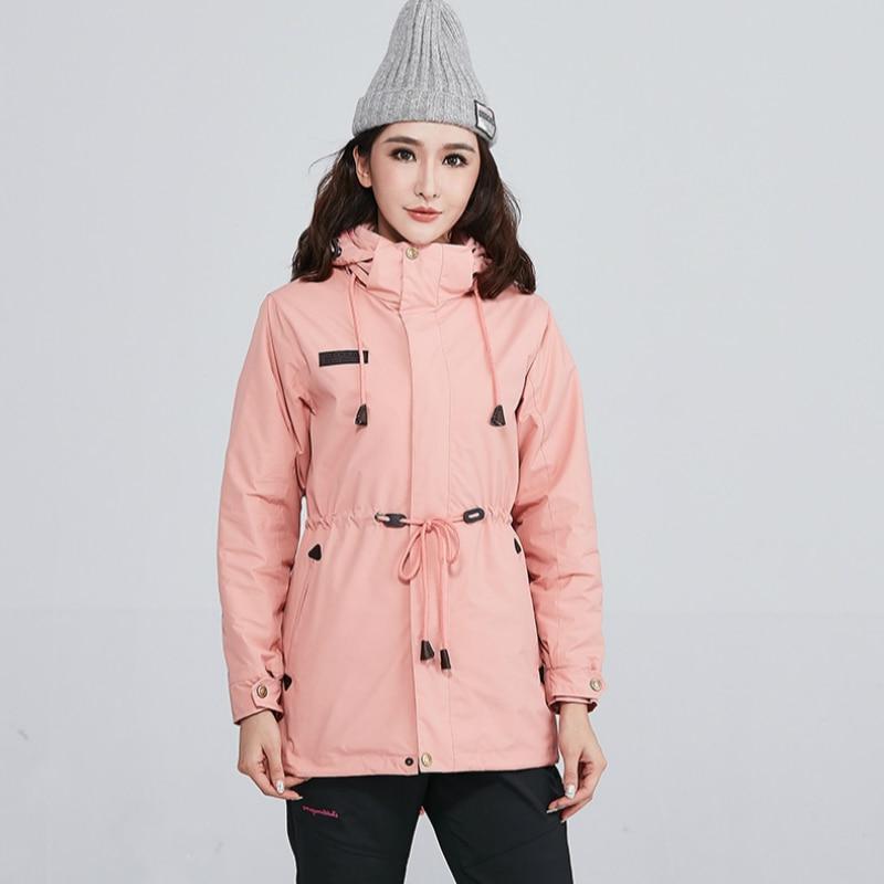 2019 Windproof Plus Velvet Waterproof <font><b>Jacket</b></f