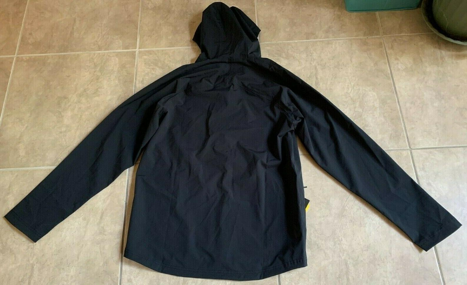 Under Armour Storm Rain Jacket Hood Black Men's Large tag