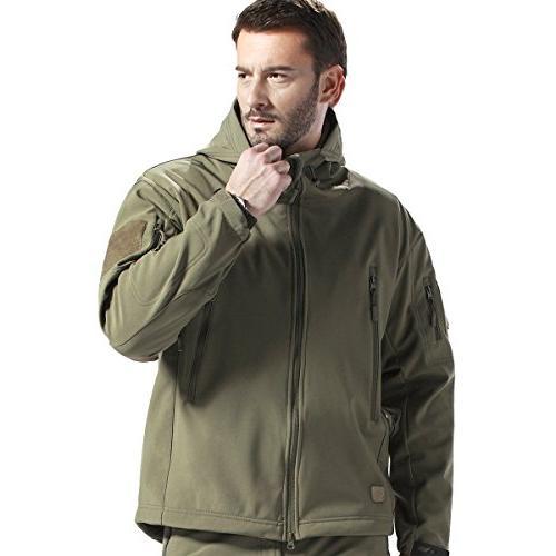 tactical jacket waterproof military hooded