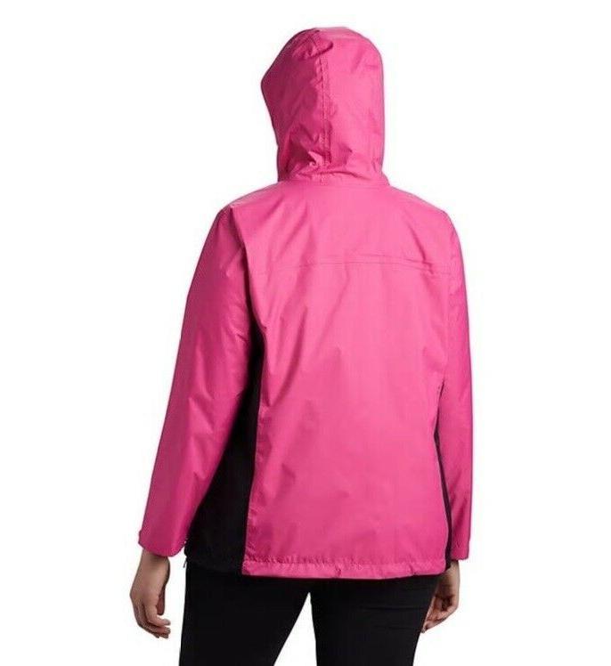 Columbia Tested in Pink Rain II Women's Plus Sz