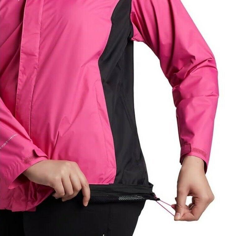 Columbia Pink Hooded II Plus Sz
