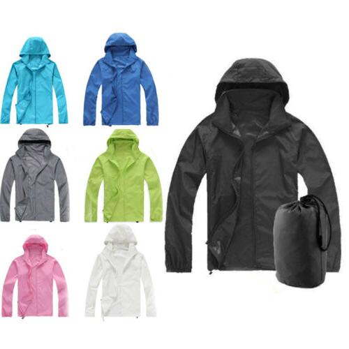 travel windproof jacket men women lightweight outdoor