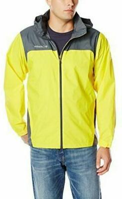 COLUMBIA Two Tone Packable Rain Jacket