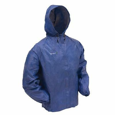 Frogg Toggs Mens Ultra Lite Rain Jacket, Blue, XX-Large