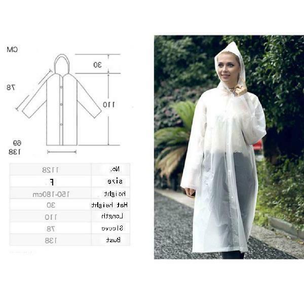 Uni Jacket Raincoat Rain Poncho