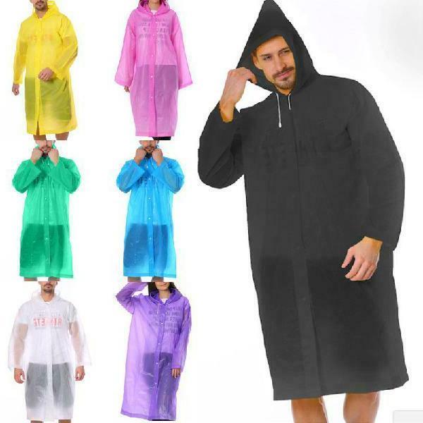 Uni Raincoat Coat Poncho Men