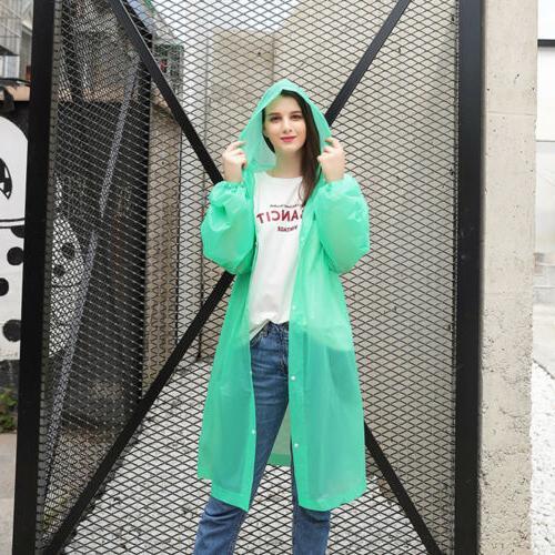 Women Clear Raincoat Rain