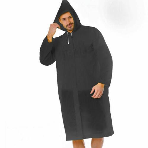 US Men Waterproof Jacket Raincoat Coat Poncho Rainwear