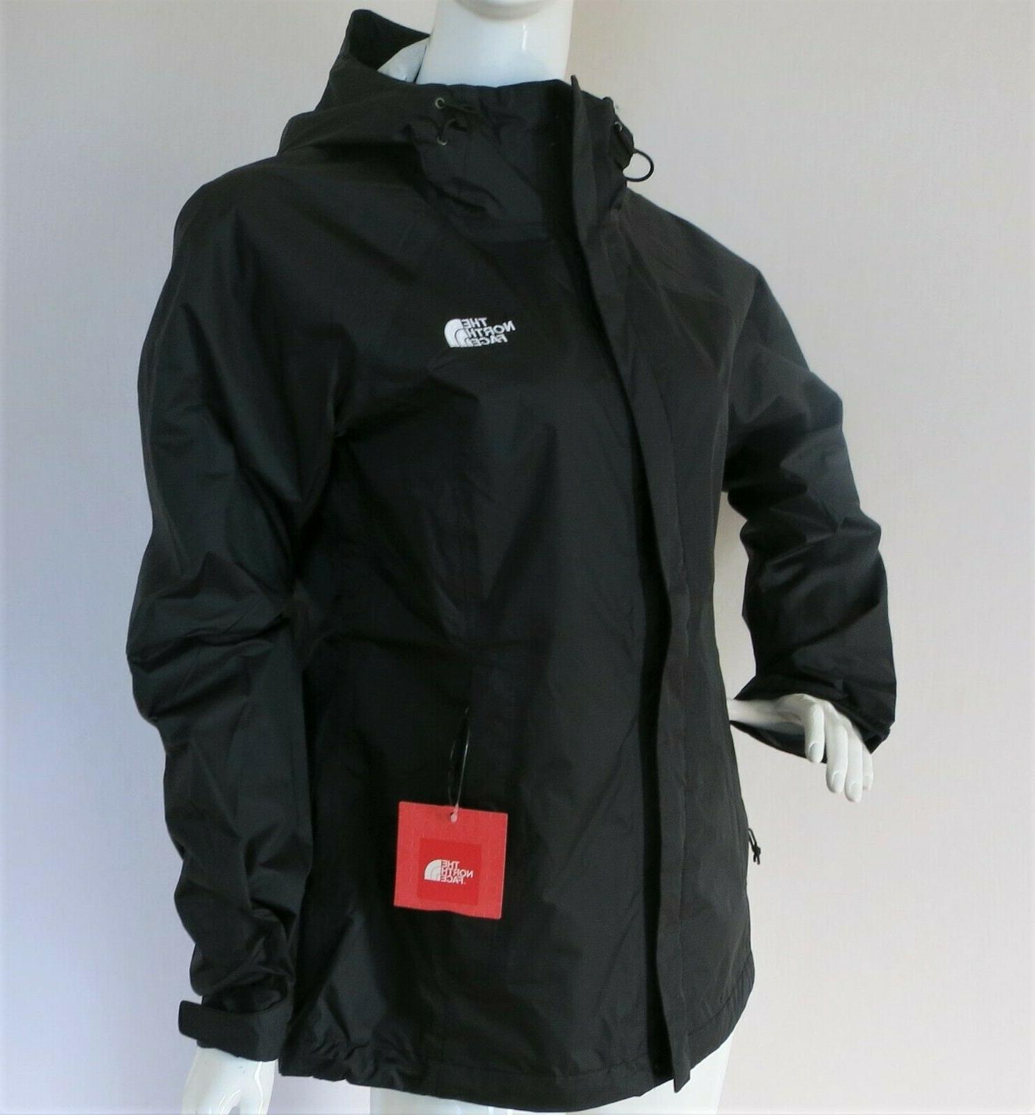 Women's Rain Jacket TNF BLACK $99