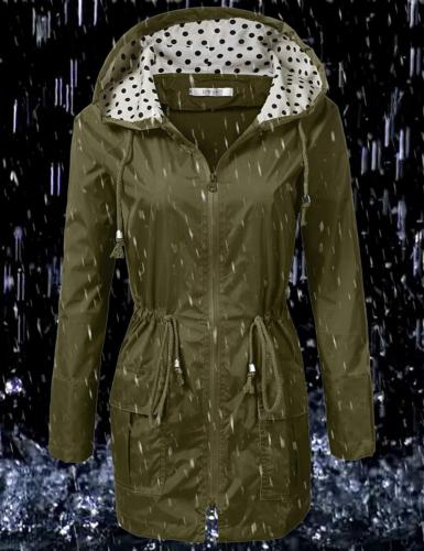 UNibelle Jacket Hooded Raincoat for