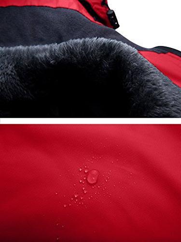 Wantdo Waterproof Jacket Fleece Outdoor US