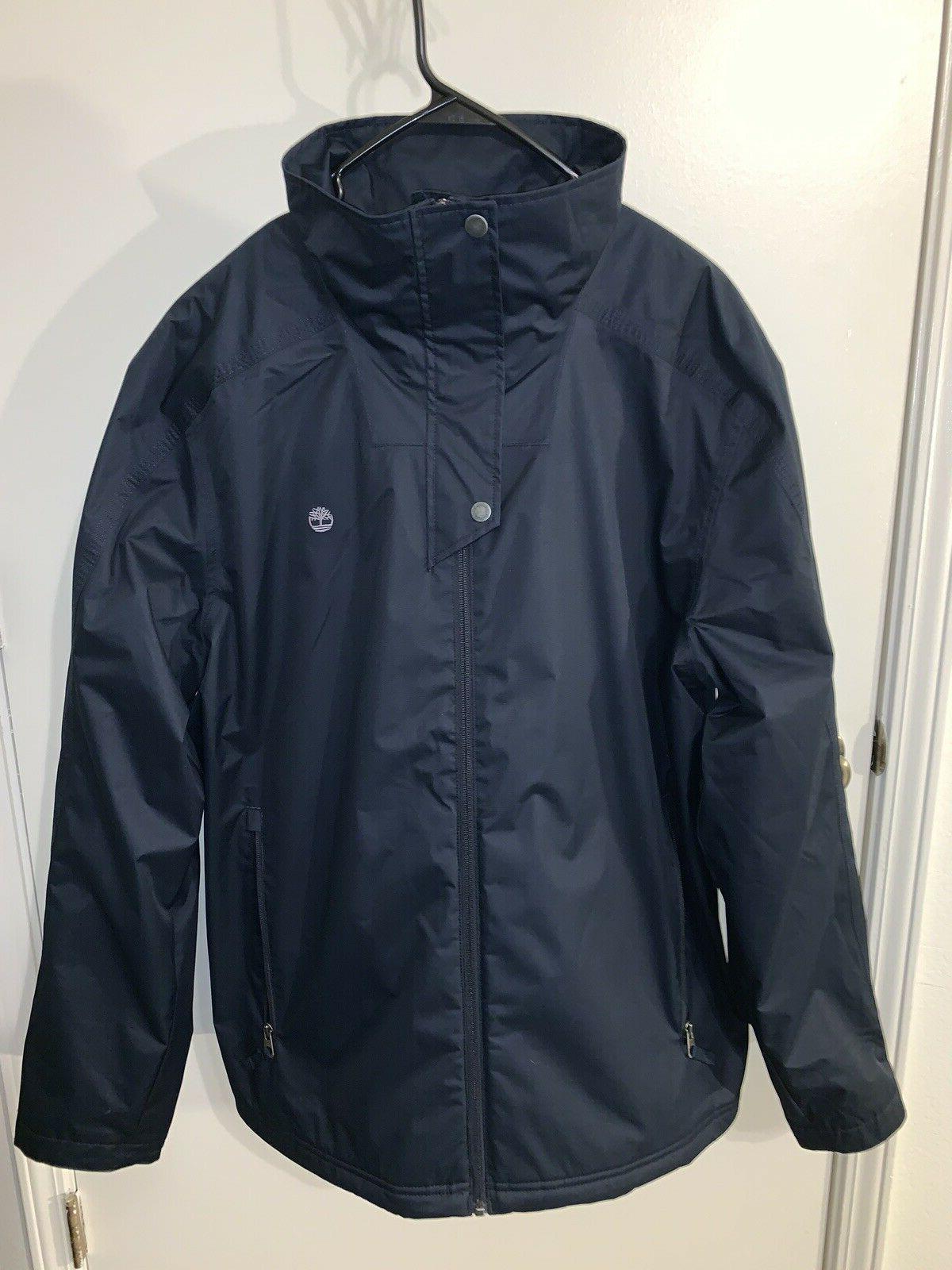 waterproof navy blue rain jacket mens xxl