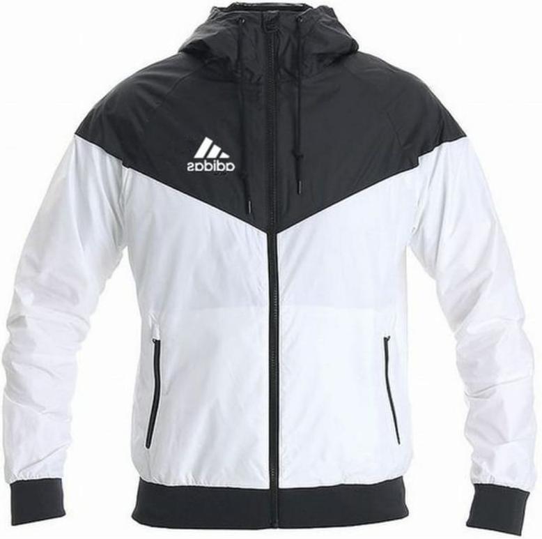Adidas Windbreaker Men Slim Jacket Coat Windrunner