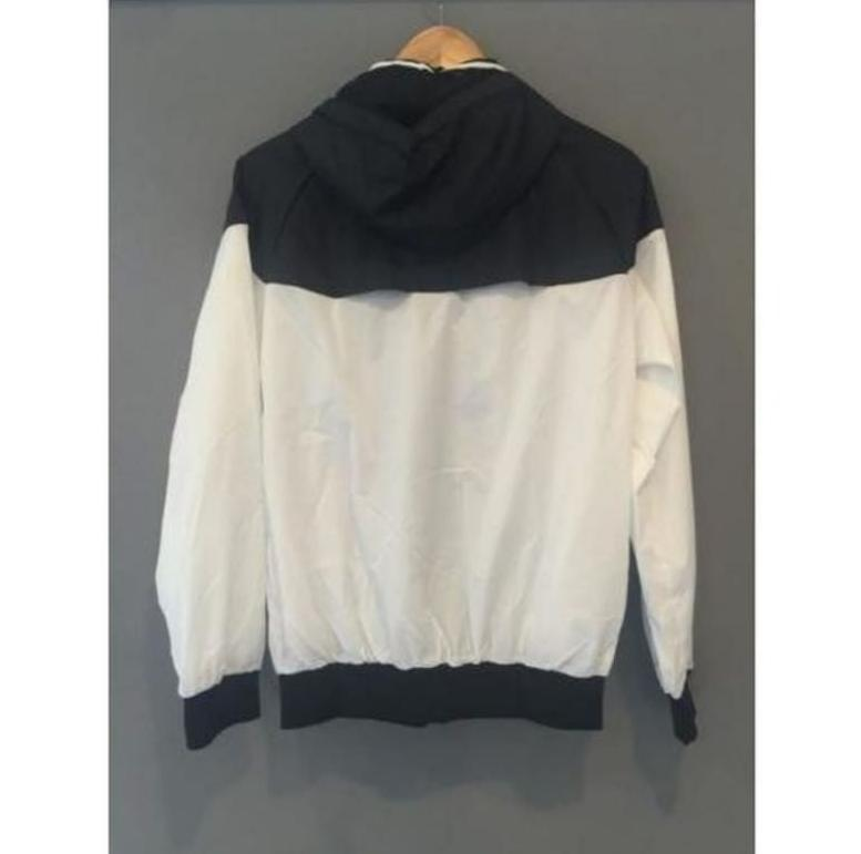 Adidas Slim Jacket Coat Windrunner Black/White