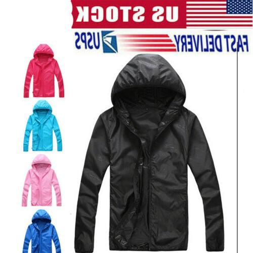windproof jacket men women quick drying lightweight