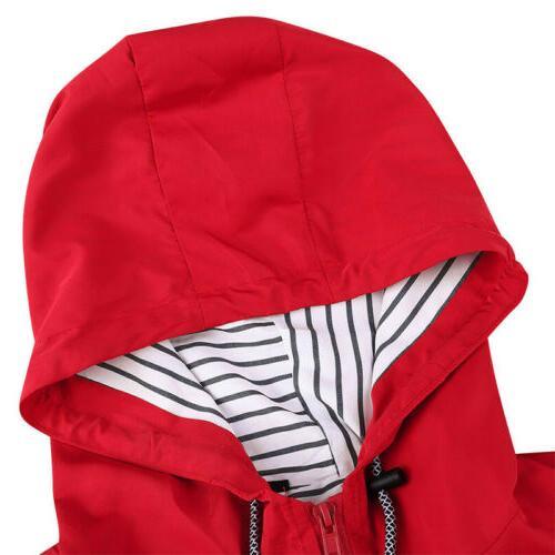 Women Raincoat Waterproof Mac Outdoor