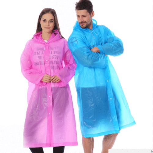 Unisex Waterproof Raincoat Rain Coat Poncho