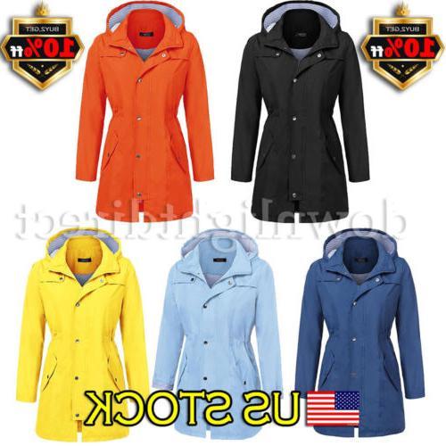 women rain mac waterproof festival jacket ladies