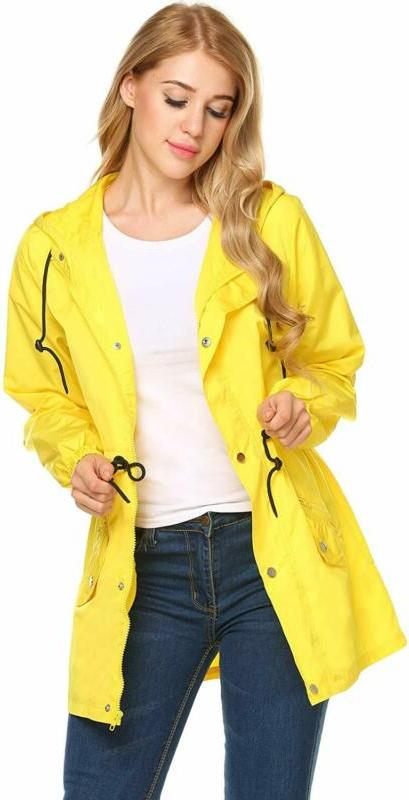 UNibelle Hooded Rain Jacket Outdoor Active