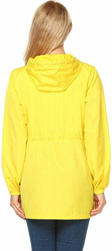 UNibelle Raincoat Hooded Outdoor Active Windbreake