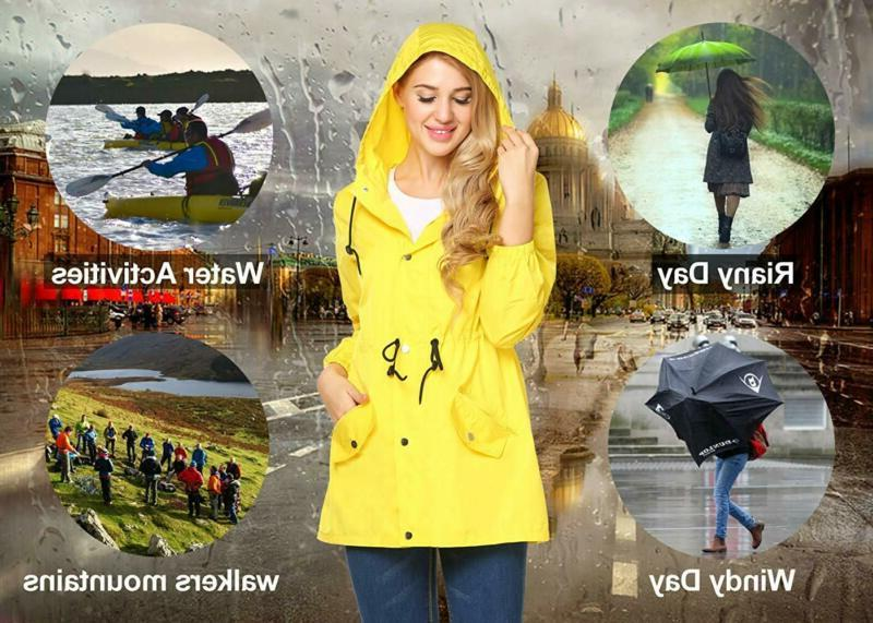 UNibelle Women Raincoat Hooded
