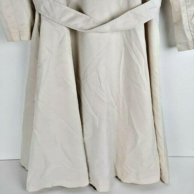 Zeagoo Trench Coat w Cream Sz Med