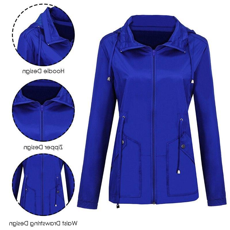 Vertvie Women's <font><b>Lightweight</b></font> <font><b>Jacket</b></font> Active Outdoor Waterproof Packable Hooded Mountaineer Travel Outwear