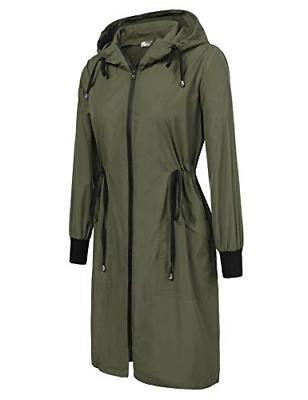 Zeagoo Women's Jacket,Army