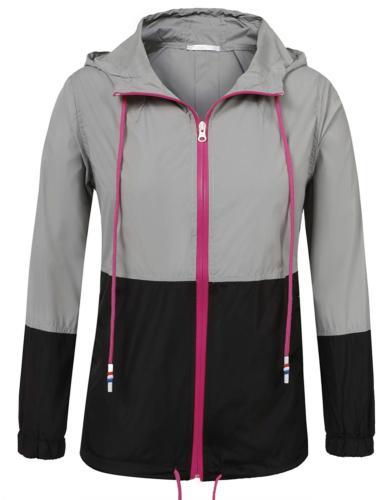 SoTeer Women's Packable Waterproof Rain Jacket Outdoor Rainc