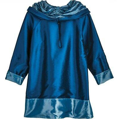 Lindi Women's Reversible Coat Rain Jacket