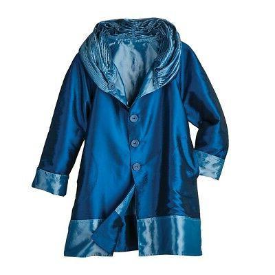 Lindi Reversible Coat - Hooded Rain