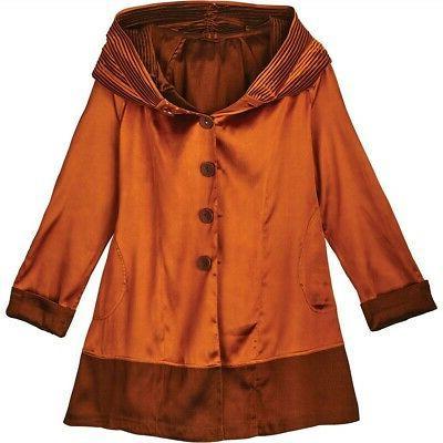 Lindi Reversible Rain Coat Hooded