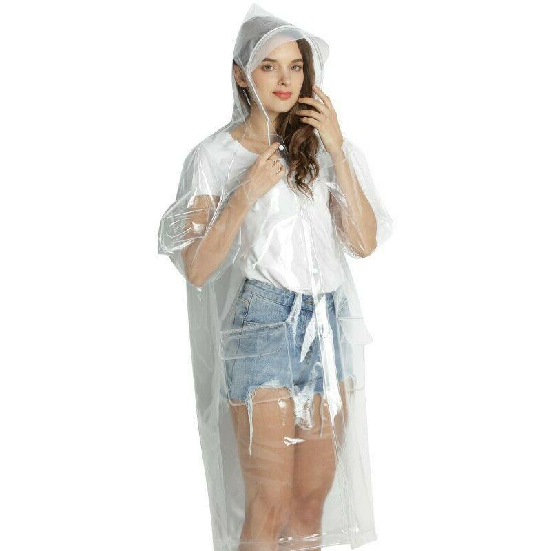 Girls Clear Stylish Coat