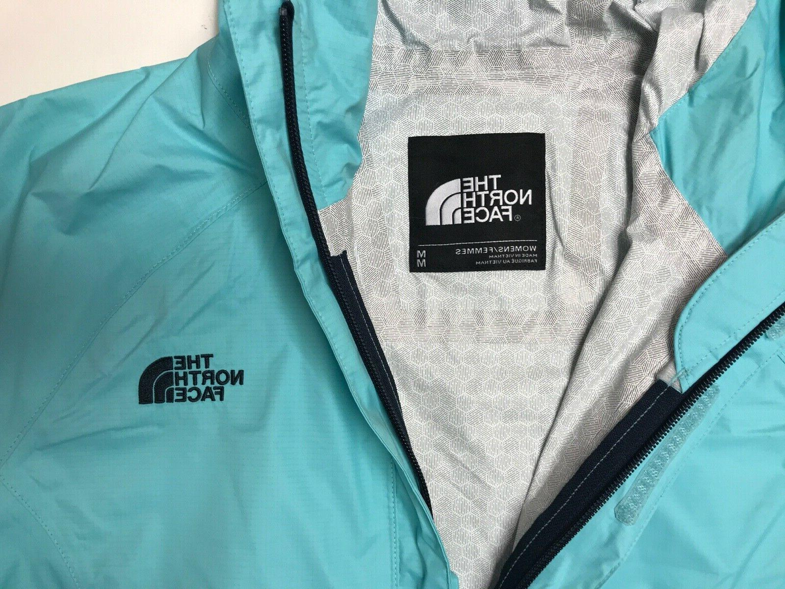 The North Women's Venture Rain Jacket Blue