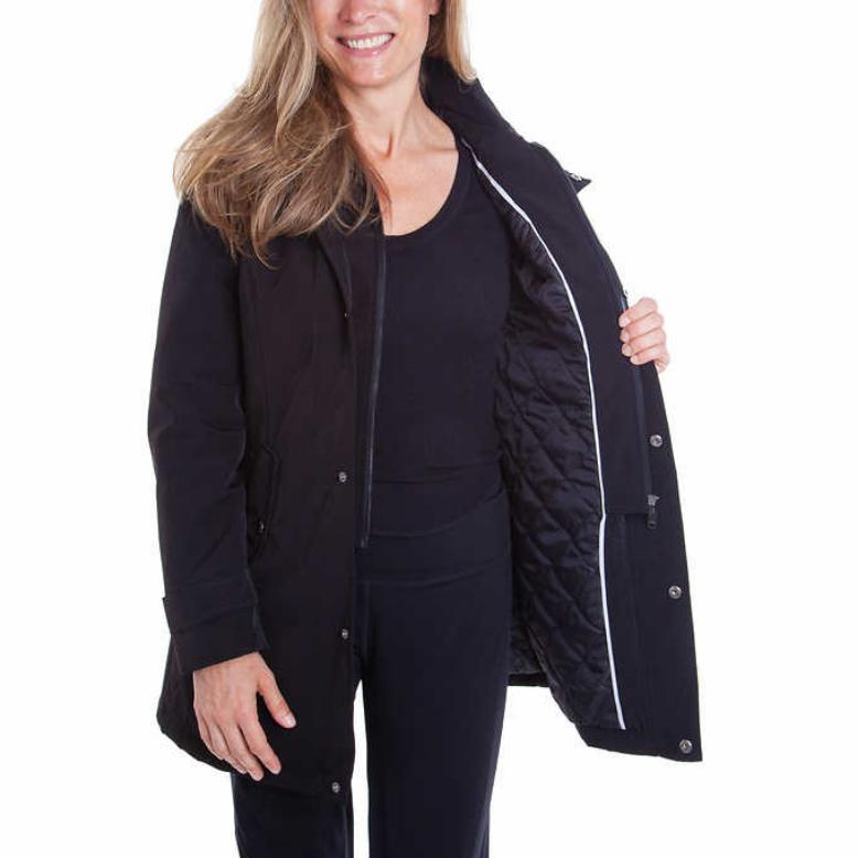 HFX Jacket Hooded Black L NWT