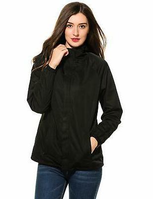 Zeagoo Waterproof Raincoat Outdoor Sport Rain Jacket