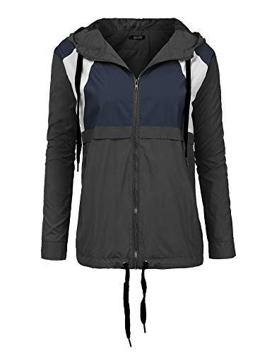 women s waterproof rain jacket windproof ski