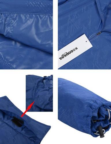 Zeagoo Women's Outdoor Hooded Dark XL