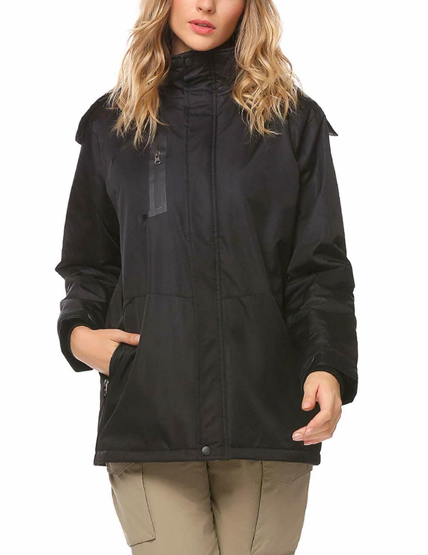Zeagoo Waterproof Thickening Fleece Rain