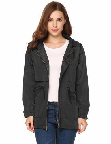 women waterproof lightweight rain jacket anorak active